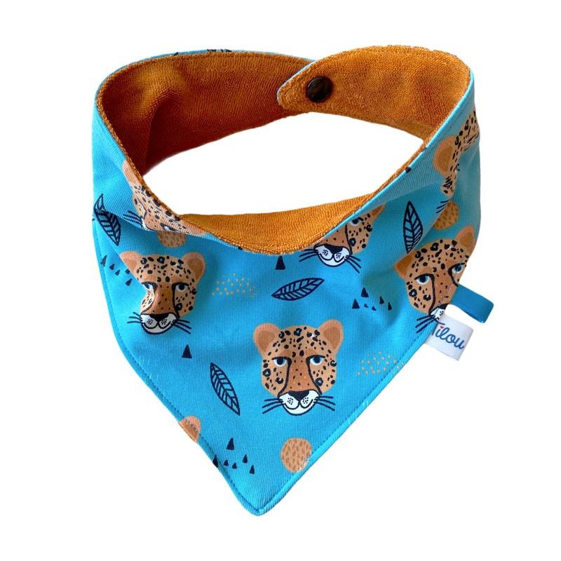 foulard-bavoir-leopold-le-leopard
