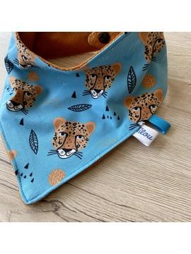 foulard bebe leopard